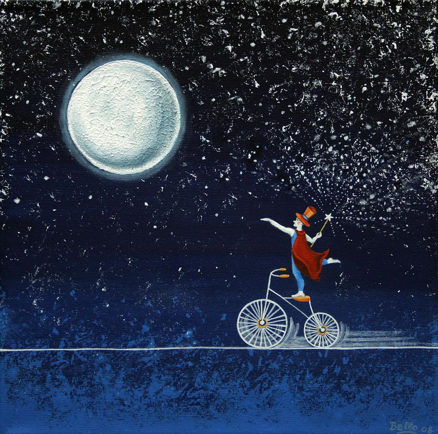 Magical Night by Graciela Bello